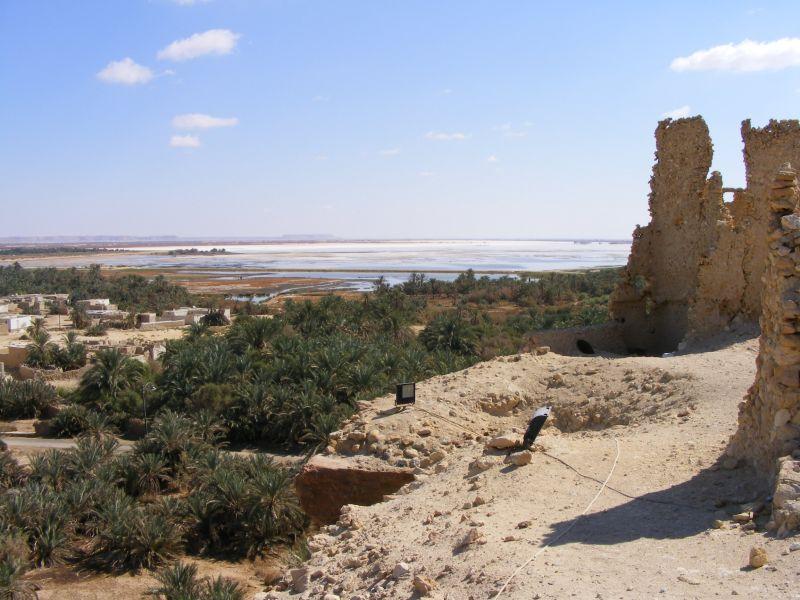 Siwa la plus belle oasis d egypte famille bertrand en - Les bain de cleopatre ...